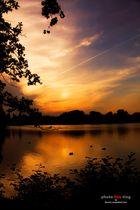 Sonnenuntergang am Kreuzteich