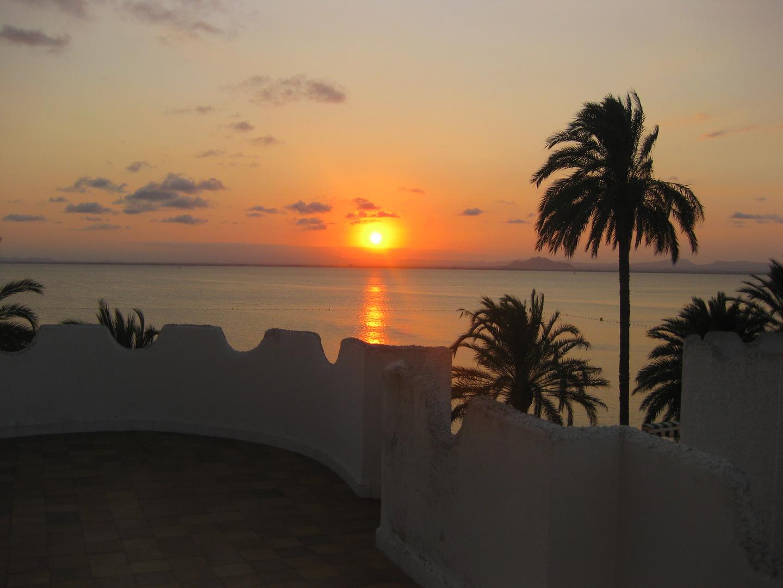 Sonnenuntergang am Mar Menor