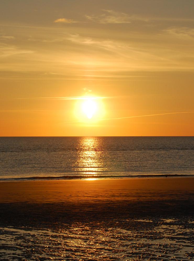 Sonnenuntergang am Meer Foto & Bild | landschaft, meer ...
