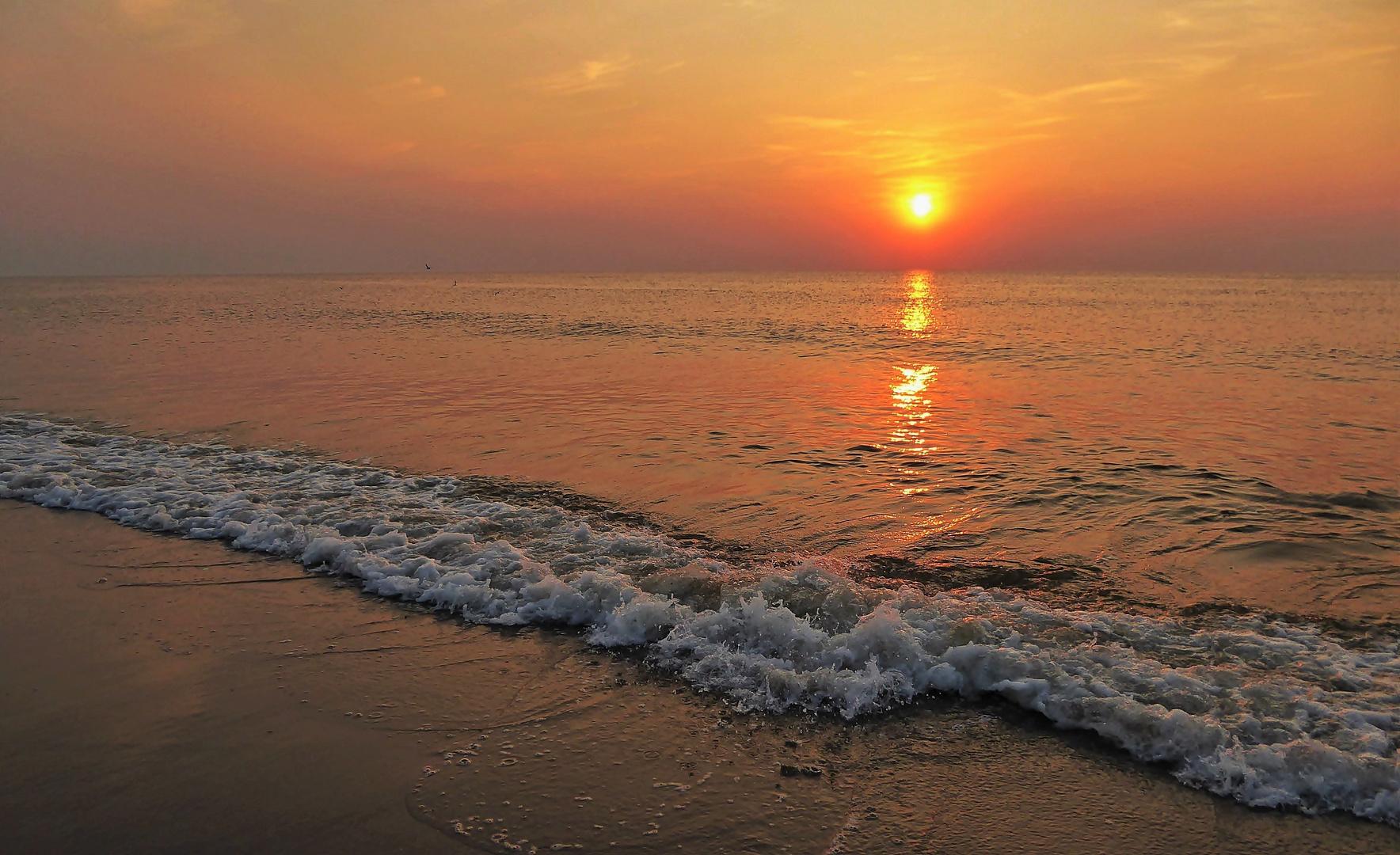 Sonnenuntergang Am Meer Foto Amp Bild Sonnenunterg 228 Nge