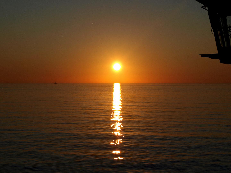 *** Sonnenuntergang am Meer***
