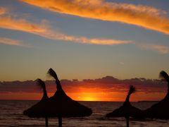 Sonnenuntergang am Meer II