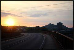 ...SonnenUntergang am Monte Schlacko...