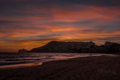 Sonnenuntergang am Moro de Tox