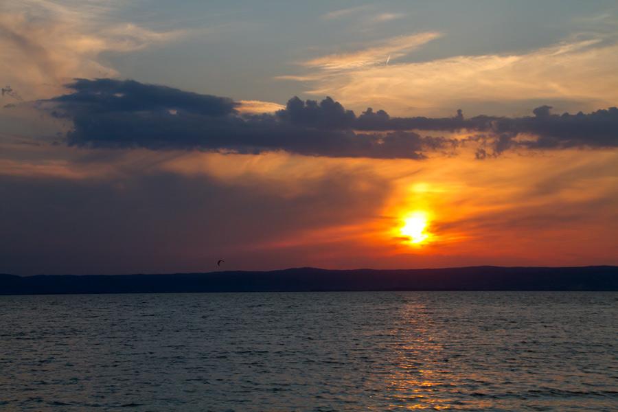 Sonnenuntergang am Neusiedlersee #1