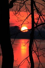 Sonnenuntergang am Noor