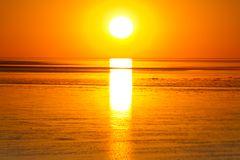 Sonnenuntergang am Norddeich Nr.2