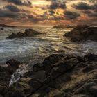 Sonnenuntergang am Playa del Amor