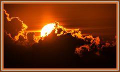 Sonnenuntergang am Pointe du Van