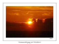 Sonnenuntergang am Polarkreis 2