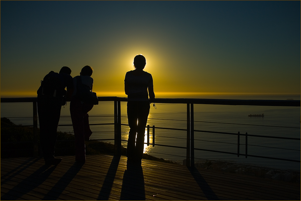 Sonnenuntergang am Signal Hill 2