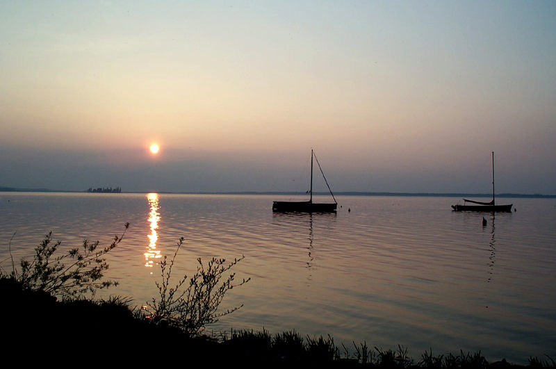 Sonnenuntergang am Steinhuder Meer