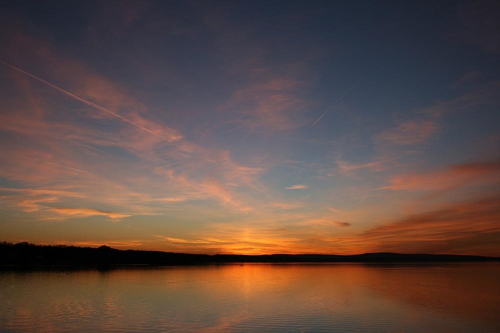 Sonnenuntergang am Steinhuder Meer #3