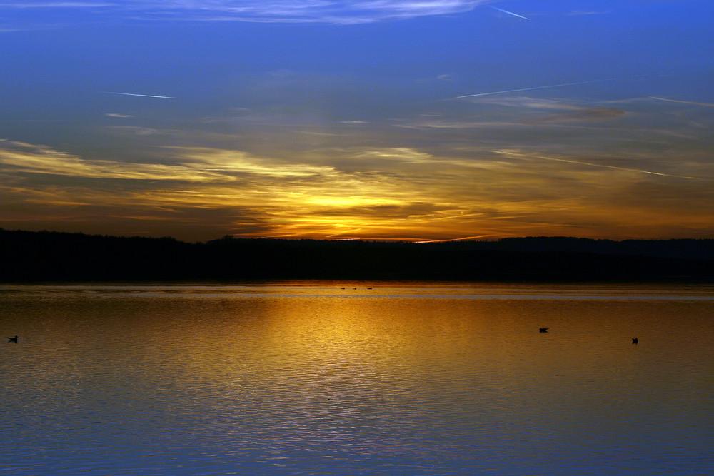 Sonnenuntergang am Steinhuder Meer #4