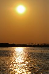 Sonnenuntergang am Steinhuder Meer (Hagenburg) #2