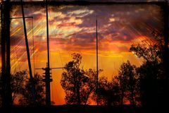 Sonnenuntergang am Stockweiher