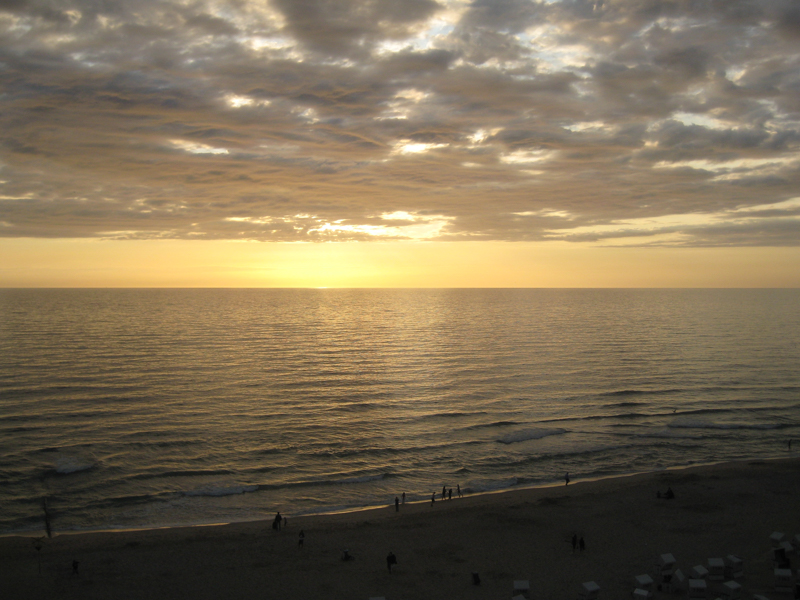 Sonnenuntergang am Strand bei Westerland (2)