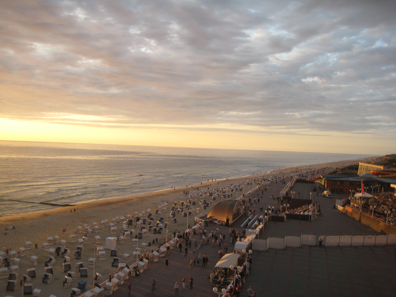 Sonnenuntergang am Strand bei Westerland (4)