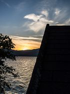 Sonnenuntergang am Traunsee