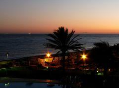 Sonnenuntergang an der Costa del Sol