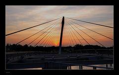 Sonnenuntergang an der Grenze (1)