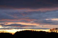 Sonnenuntergang an der Mulde - Bild 1