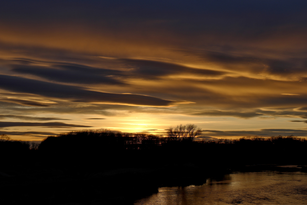 Sonnenuntergang an der Mulde - Bild 10