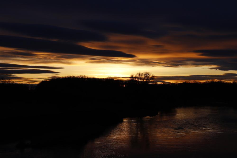 Sonnenuntergang an der Mulde - Bild 11
