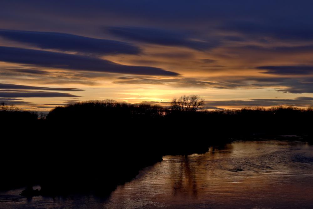 Sonnenuntergang an der Mulde - Bild 12