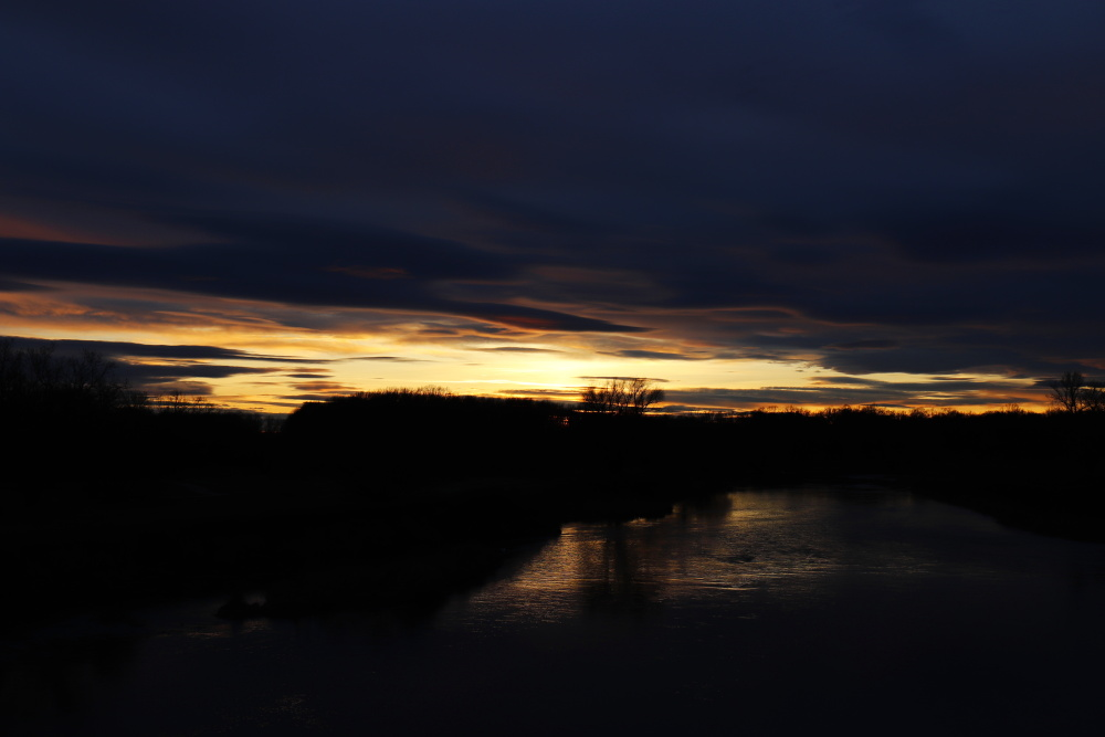 Sonnenuntergang an der Mulde - Bild 13