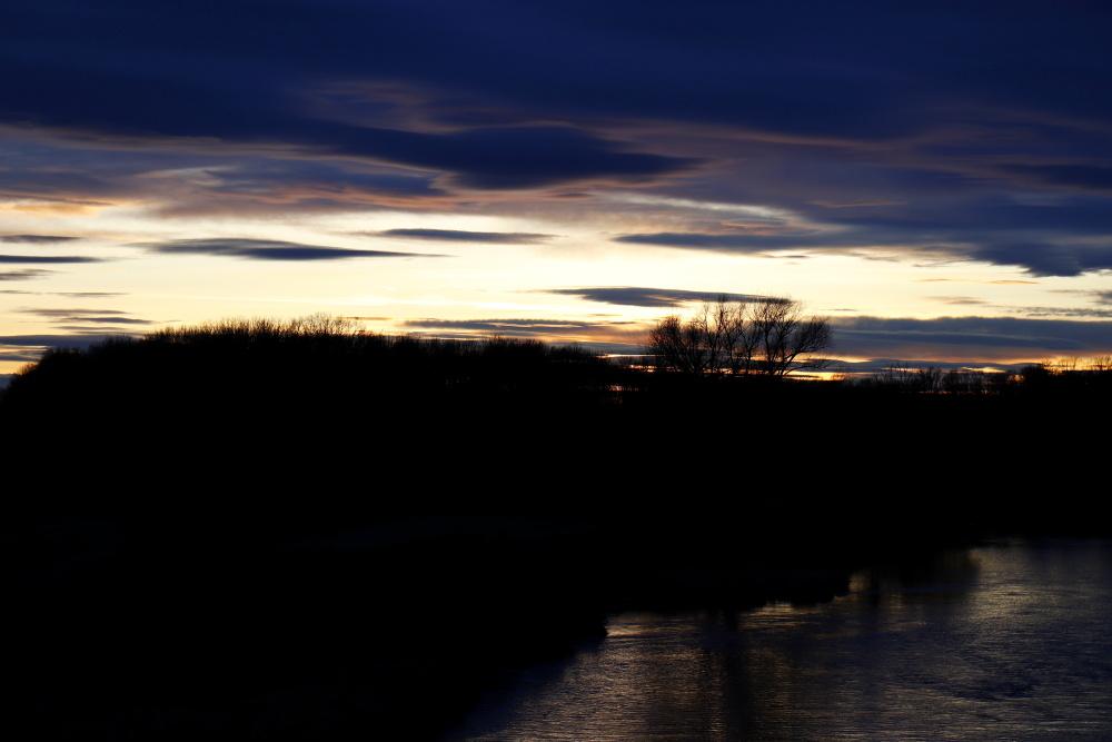 Sonnenuntergang an der Mulde - Bild 14
