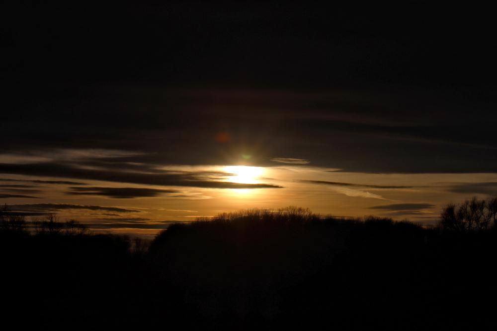 Sonnenuntergang an der Mulde - Bild 3