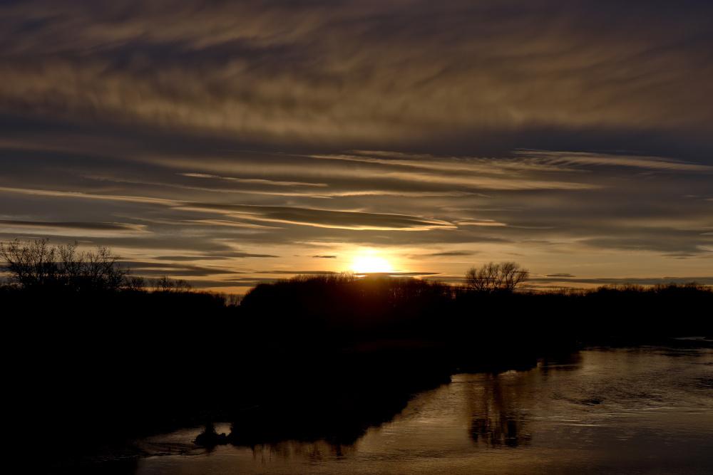 Sonnenuntergang an der Mulde - Bild 5
