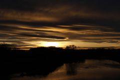 Sonnenuntergang an der Mulde - Bild 6