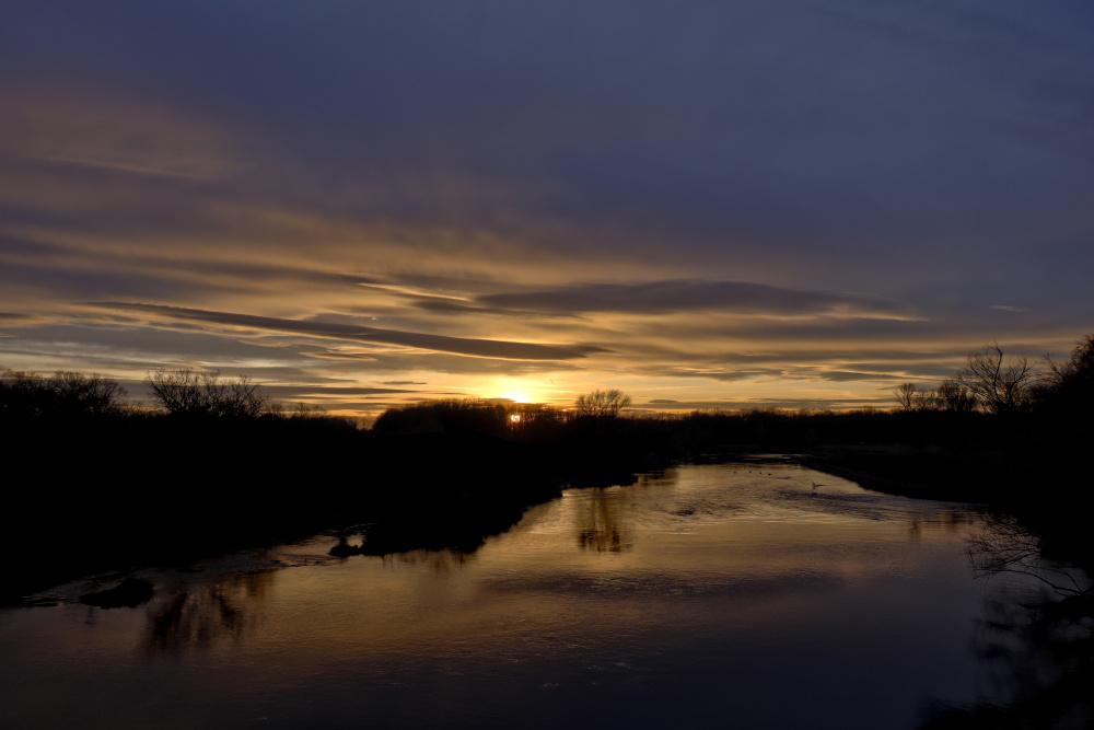 Sonnenuntergang an der Mulde - Bild 8