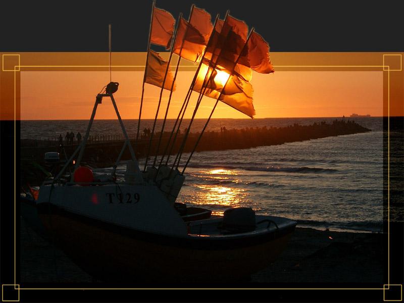 Sonnenuntergang an der Nordsee II
