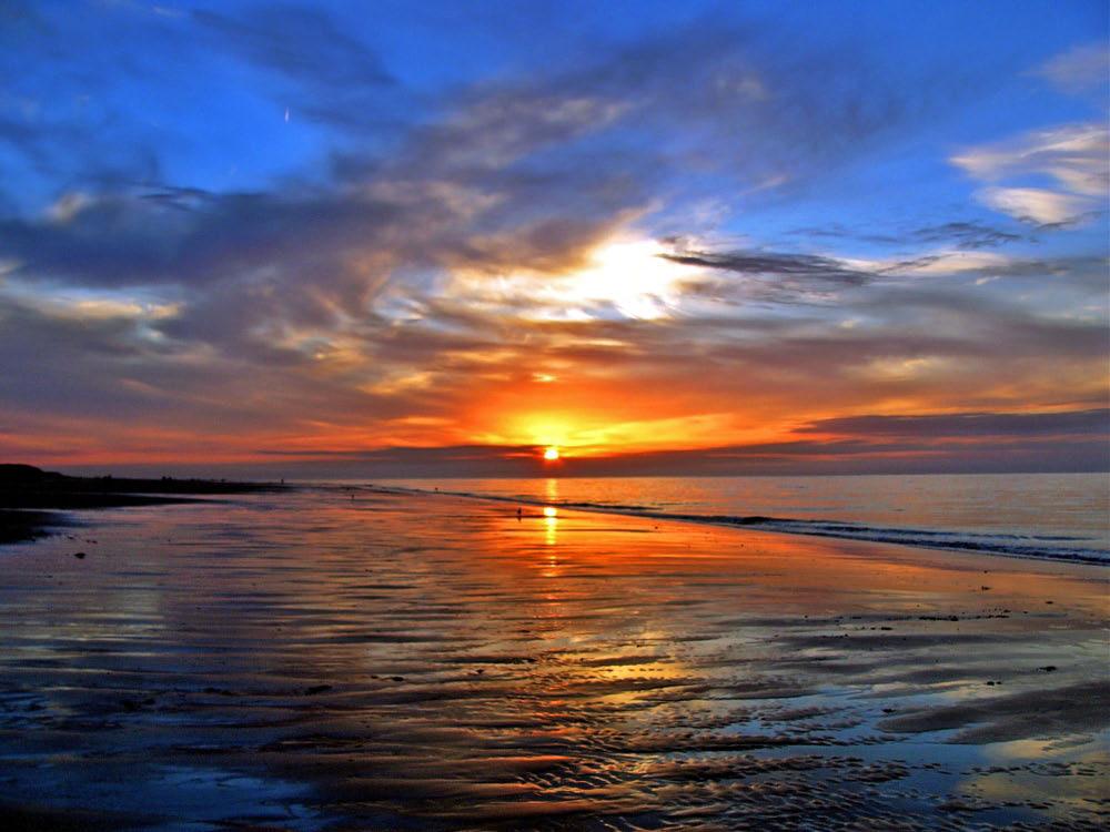 Strand nordsee sonnenuntergang  Sonnenutergang | fotocommunity Portfolio von Hendrik Gerrits