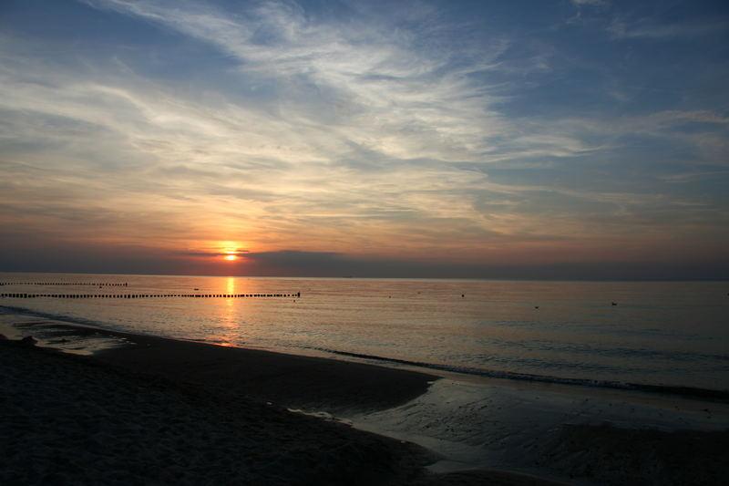 Sonnenuntergang an der Ostsee I