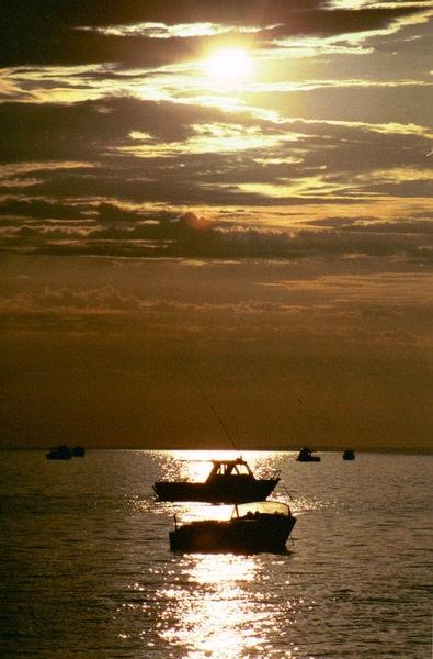 Sonnenuntergang an der Shark Bay in Westaustralien
