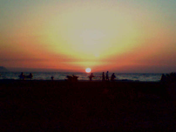 Sonnenuntergang an der Türkischen Westküste