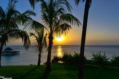 Sonnenuntergang an der Westküste von Sansibar01