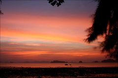Sonnenuntergang Ao Nang, Krabi
