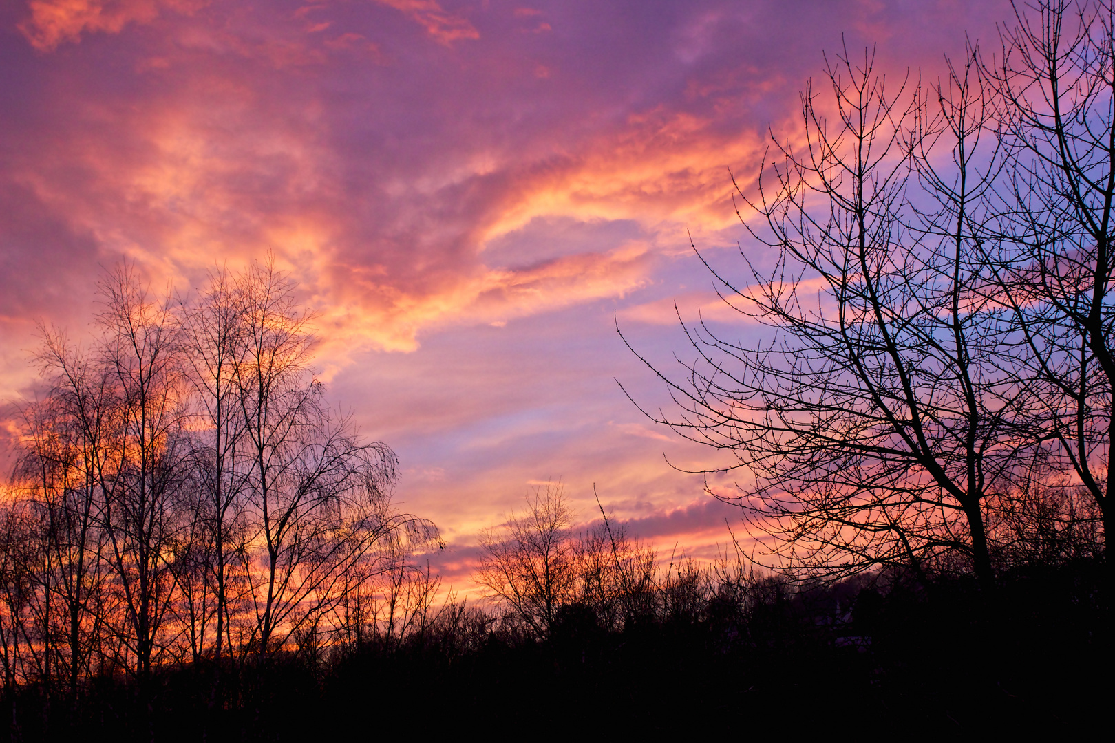 Sonnenuntergang April 2014