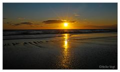 Sonnenuntergang Atlantikküste