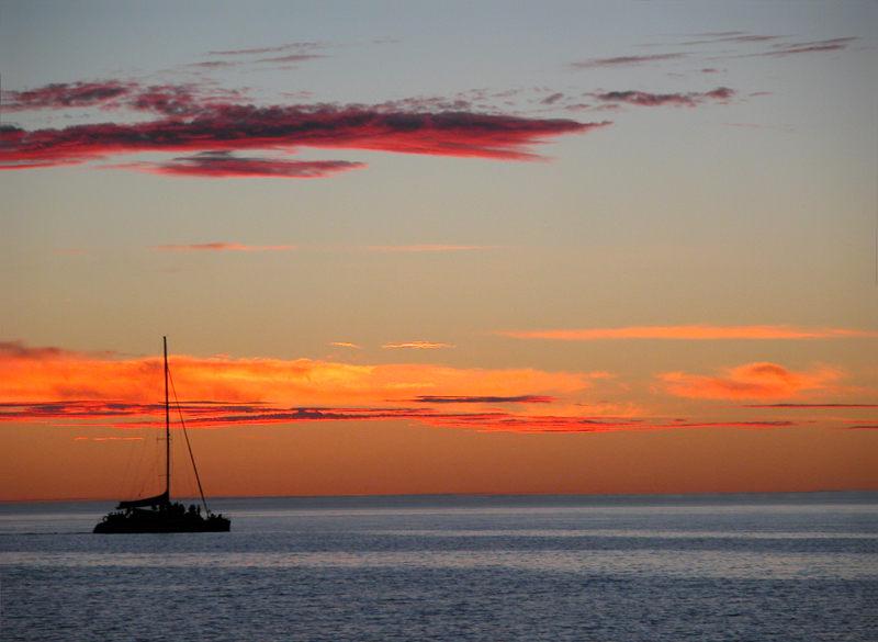 Sonnenuntergang auf australisch ...