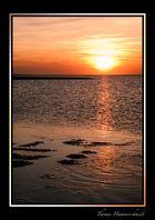 Sonnenuntergang auf Baltrum