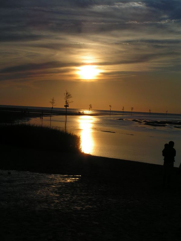 Sonnenuntergang auf Cape Cod, USA Aug. 2005