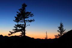 ...Sonnenuntergang auf dem Herzogstand...