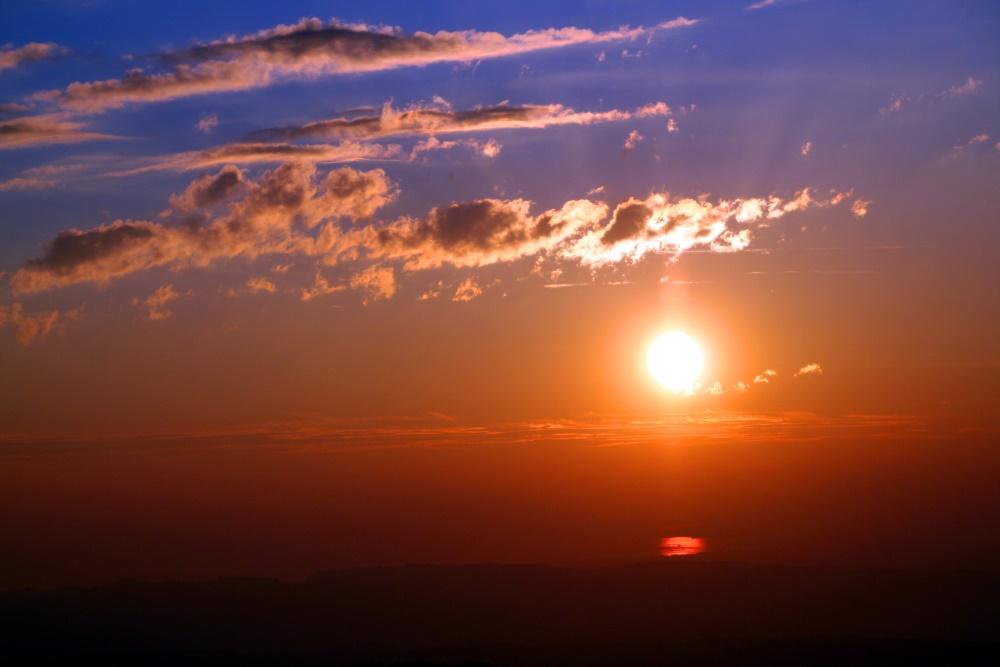 Sonnenuntergang auf dem Hochgrat 2