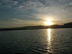 Sonnenuntergang auf dem Inlesee